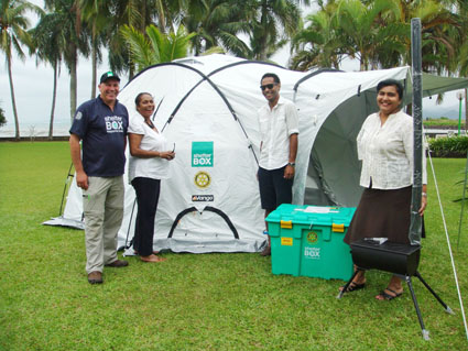 ShelterBox Mobilises to Help Flood-Struck Fiji