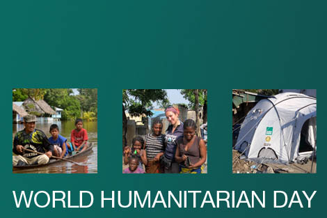 Composite image for World Humanitarian Day