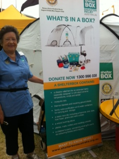 ShelterBox Ambassadors were on hand to demonstrate kit and answer questions