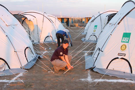 n her final video diary instalment from northern Iraq, ShelterBox Response Team member Rebecca Novell (UK) reflects on her deployment.
