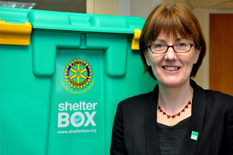 The New CEO of ShelterBox, Alison Wallace