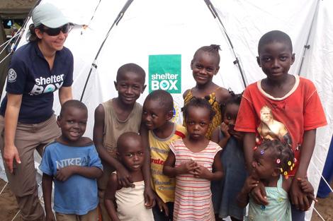 Alison Ashlin in Congo, April 2012.