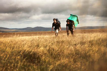 Competitors in the Dartmoor Challenge, held annually in the UK