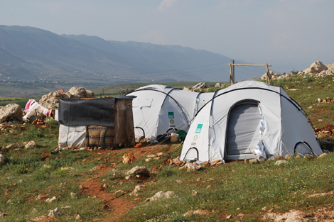 ShelterBox has been working in Lebanon with local implementing partners, including Scouts, to distribute aid to the growing number of Syrian refugees in the West Bekaa valley.