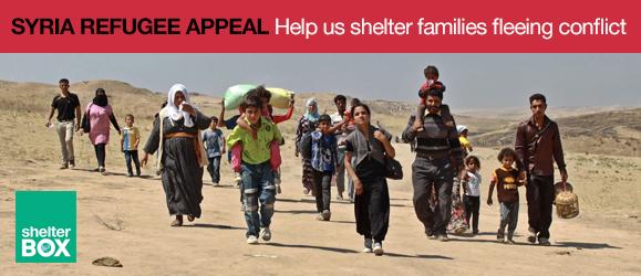Syria Refugee Appeal image courtesy of Aram Karim/Metrography