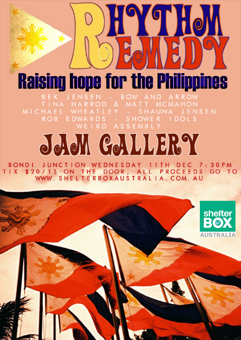 RHYTHM REMEDY takes place at JAM GALLERY this Wednesday night