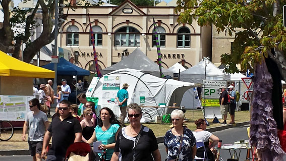 Salamanca Market's are a Hobart institution