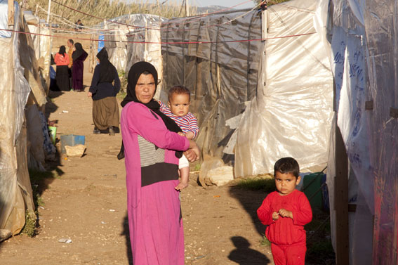 The plight of Syrian refugees has worsened as the world's eyes are drawn elsewhere. Lebanon March 14