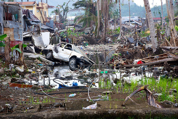 2013's Typhoon Haiyan was the strongest storm on record to ever make landfall