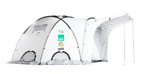 ShelterBox Relief Tents have been used in the past as isolation units and to house medical staff working in disaster areas