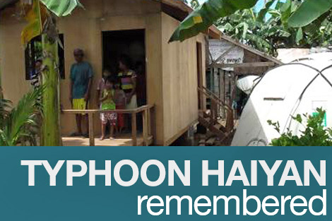 Typhoon Haiyan Remembered
