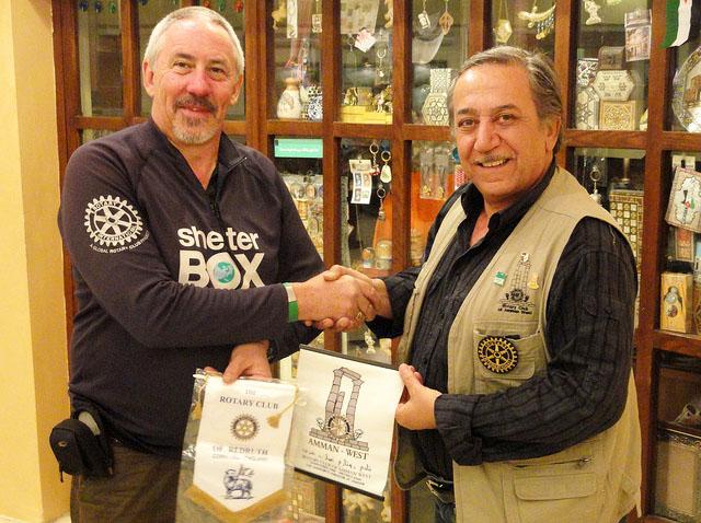 Image of  SRT and Rotarian, Tony Williams
