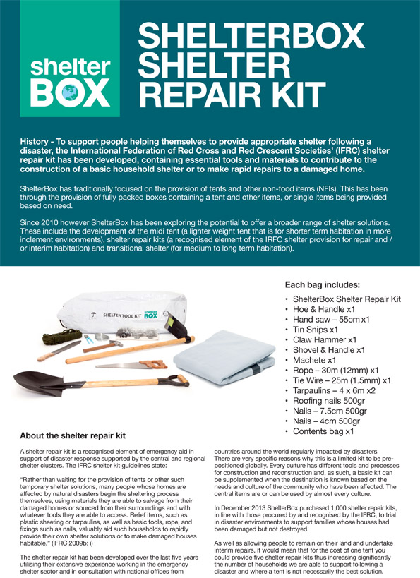ShelterBox shelter repair kit v2[1]