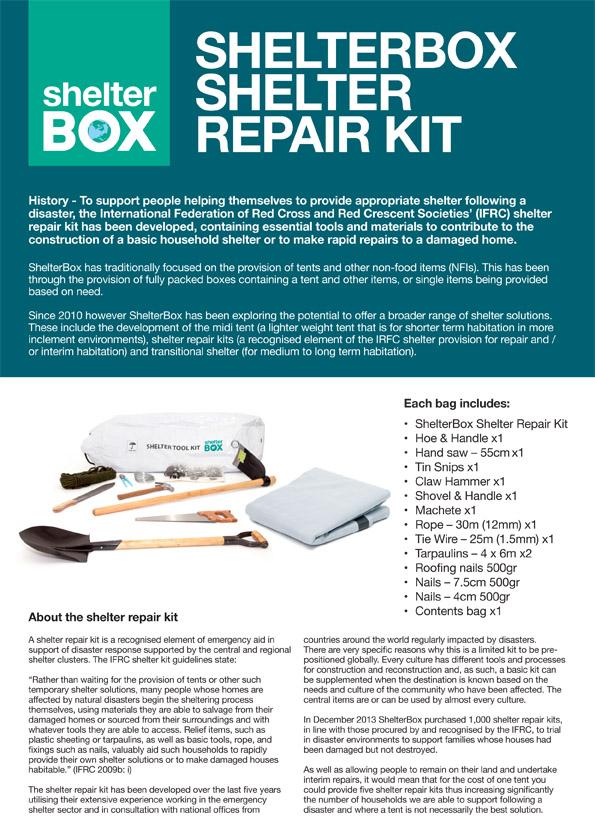 ShelterBox shelter repair kit v2[1]