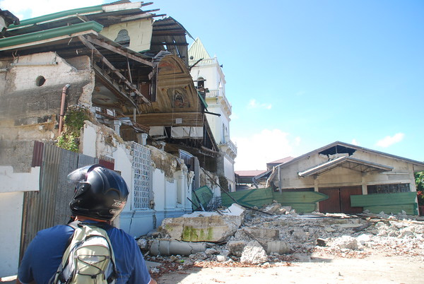 The destruction in Bohol left many families homeless
