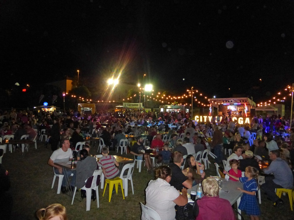 Thousands attended the 'Eats & Beats' Festival in Logan City