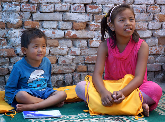 SchoolBoxes Distributed To Orphanages In Earthquake-Stricken Kathmandu (4/4)