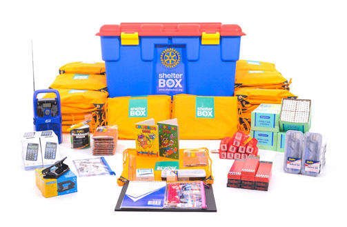 SchoolBoxes contain educational resources for teachers and 50 children