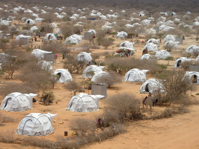 The Horn of Africa drought of 2011 forced hundreds of thousands to migrate in search of food and water