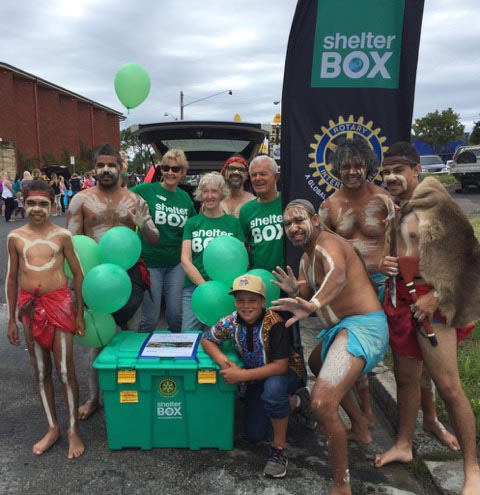 local indigenous dance troupe