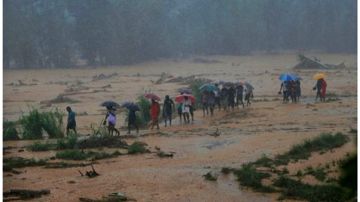 Torrential rain in Sri Lanka