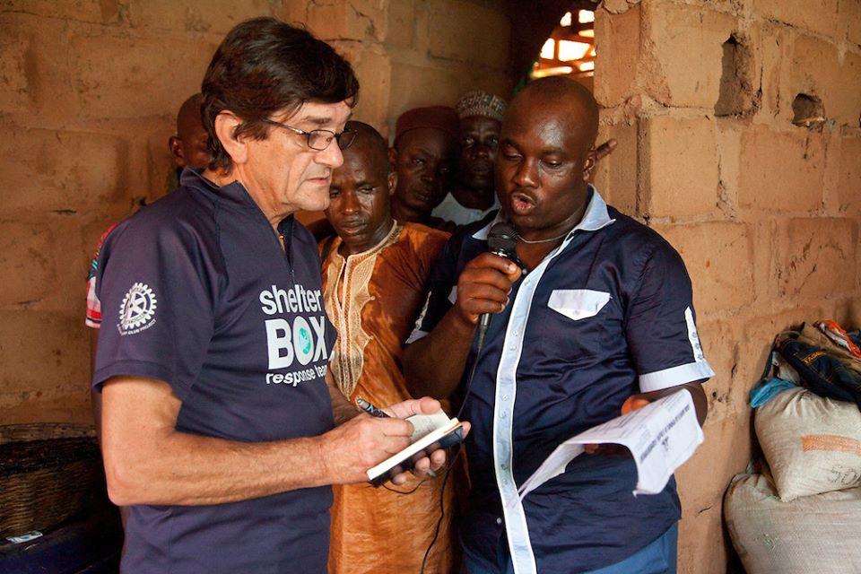Derek Locke in Nigeria 2012