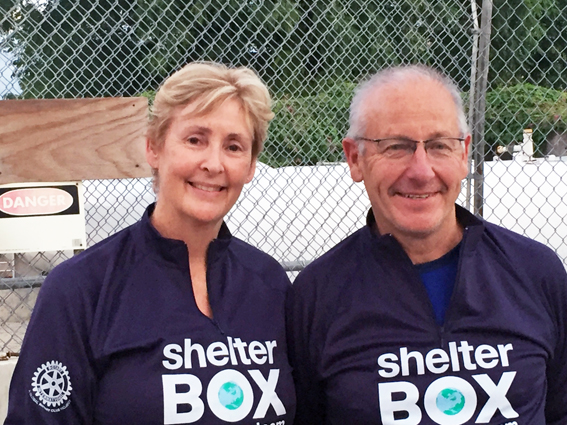 Australian ShelterBox Response Team (SRT) volunteers, Peita Berzins and Art Shrimpton have joined the relief effort in Haiti